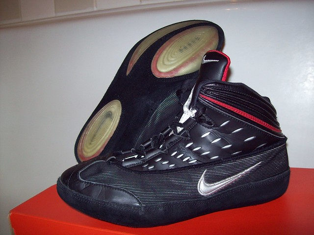 Rare Wrestling Shoes Size