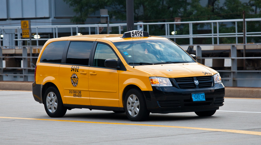 Chicago Taxi Cab Dodge Grand Caravan Tor Flickr