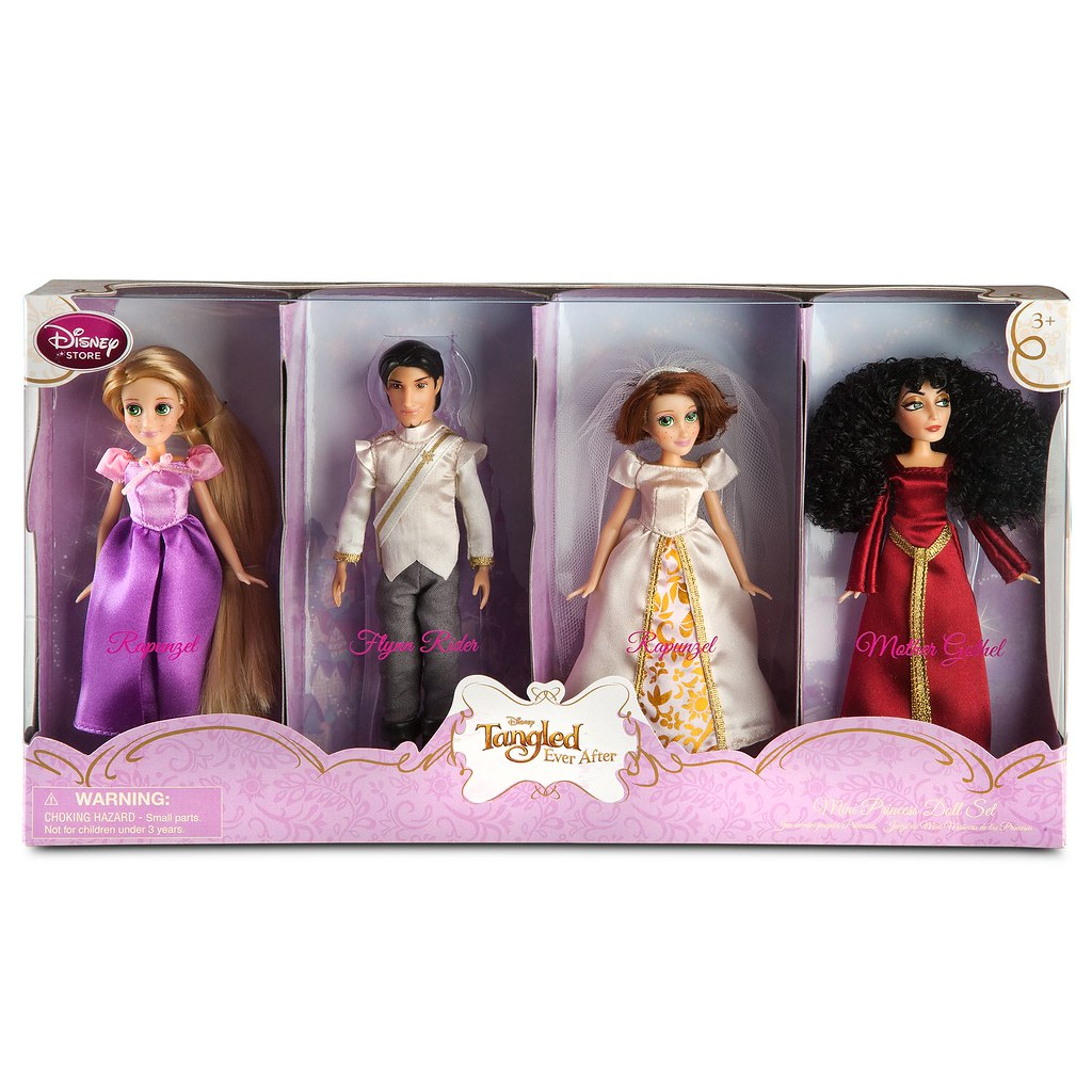 Tangled Ever After Mini Doll Set 2 Posted To Wedding