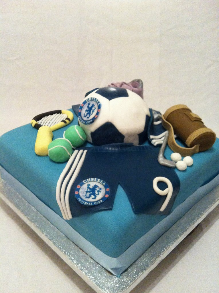 Tennis Birthday Cake Toppers