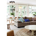 Andy Brown / GoldnBrown {bohemian eclectic rustic scandinavian modern living room}