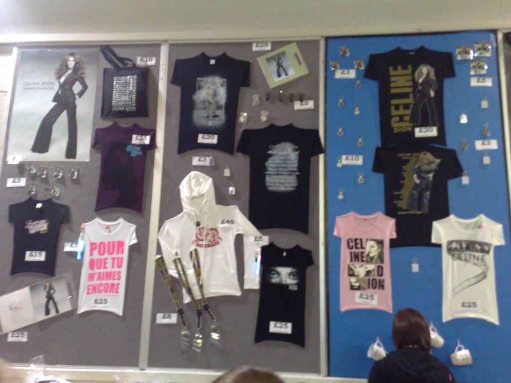 Celine Dion World Tour Merchandise | For more information ...