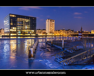 Copenhagen [Denmark] - Frozen Outdoor Swimming Pool In Copenhagen Harbour | by UrbanMescalero