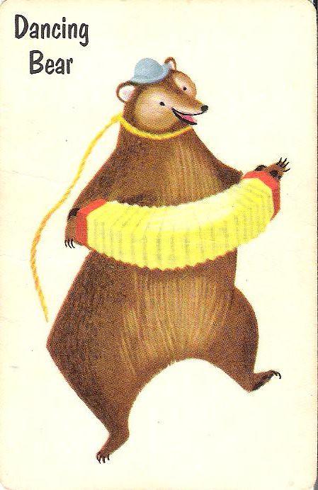 Dancing circus bear-9411