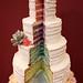 Buttercream Rainbow Wedding Cake