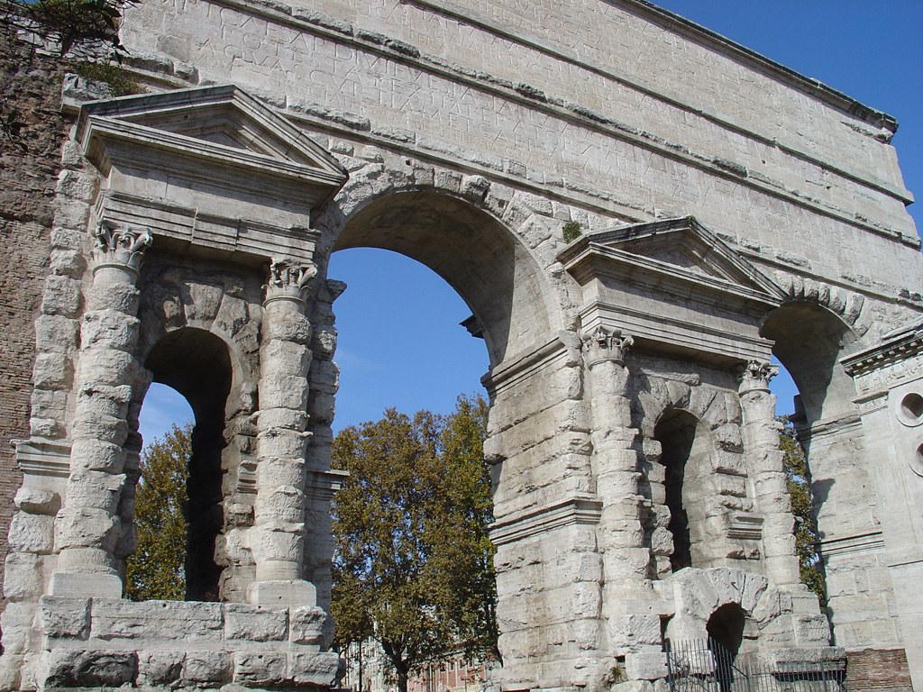 Porta maggiore rome the porta maggiore as it is now - Rome porta maggiore ...