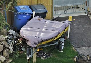 backyard boat other junk flickr photo sharing