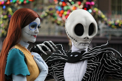 Sally and Jack meet in New Orleans Square | by Castles, Capes & Clones Nightmare Before Christmas Jack