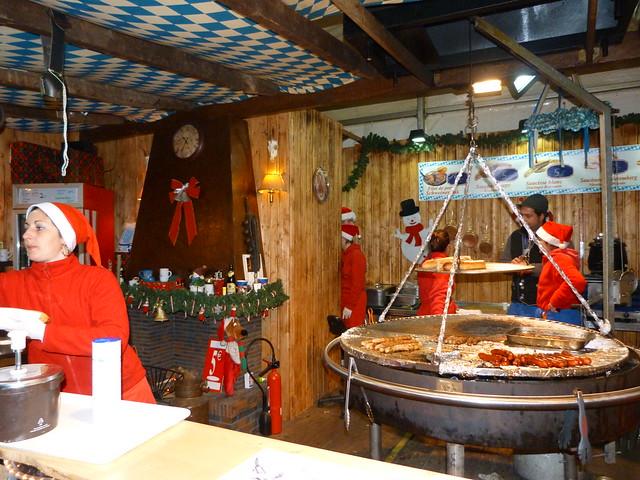 Mercadillo navideño alemán