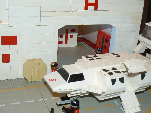 lego v final battle spaceship moc