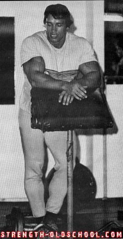 Arnold Preacher Curls ...