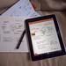 Chronodex on GhostWriter Notes iPad App
