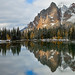 Schaffer Lake and Wiwaxy Peaks in Yoho National Park