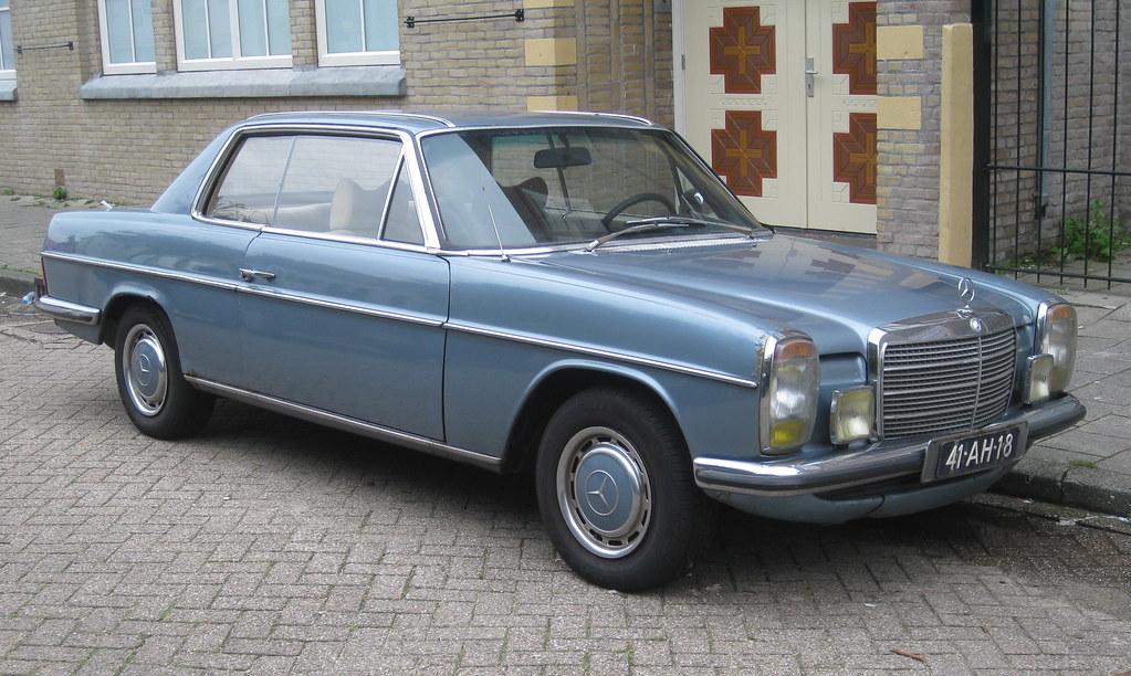 41 ah 18 mercedes benz w114 250c 20 9 1973 mosstraat for Mercedes benz 250c