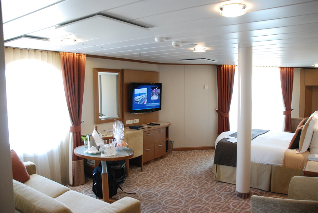 Celebrity Equinox Cabin 7219 - Category 1A - Deluxe Ocean ...