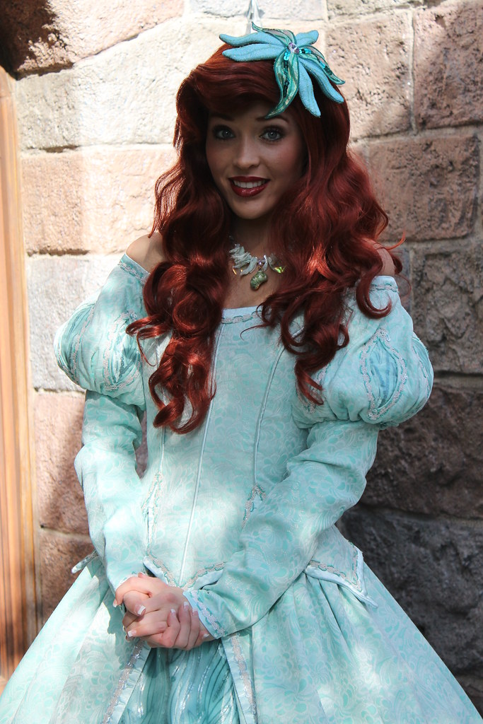 Meeting Ariel | Taken on January 18, 2012 near the Bibbidi ...