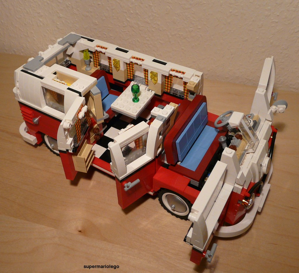 Lego 10220 Vw Camper Van Lego 10220 Volkswagen T1 Camper