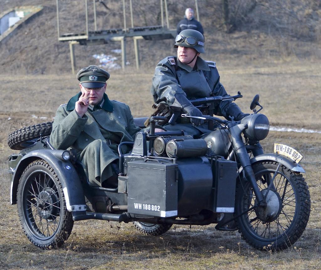 Wehrmacht BMW R75 Sidecar