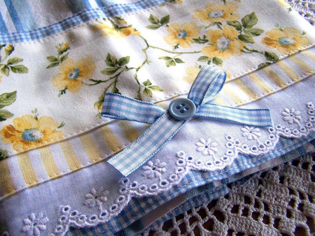 French Cottage Kitchen Dish Towel A Delightful Tea Towel Flickr