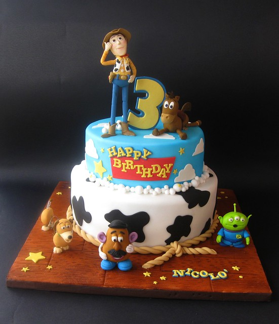 toy story cake story cake flickr photo 8037
