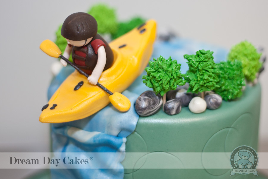 Kayak Cake 10 Fis Qxork Flickr