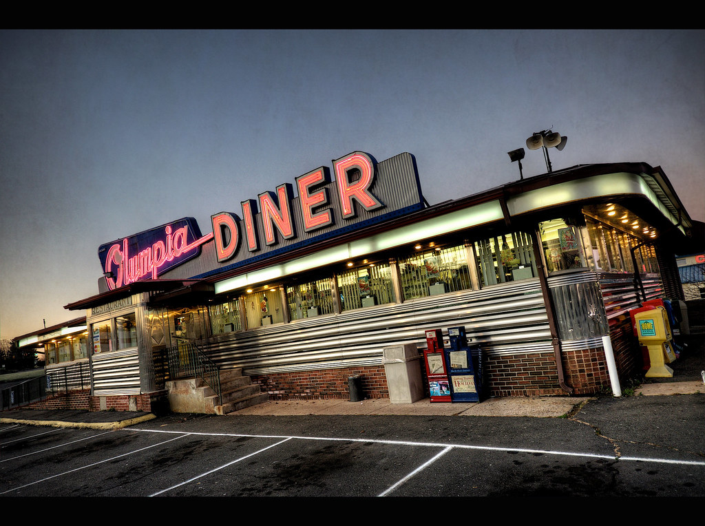 Olympia diner olympia diner newington connecticut the for Diner picture