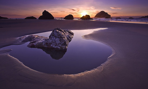 Face Rock Sunset, Bandon, Oregon | by Rich Bitonti