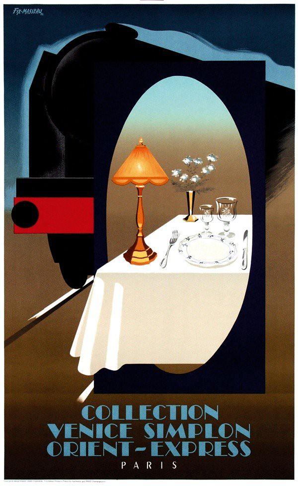 Pierre Fix Masseau Orient Express Poster 2 Kitchener