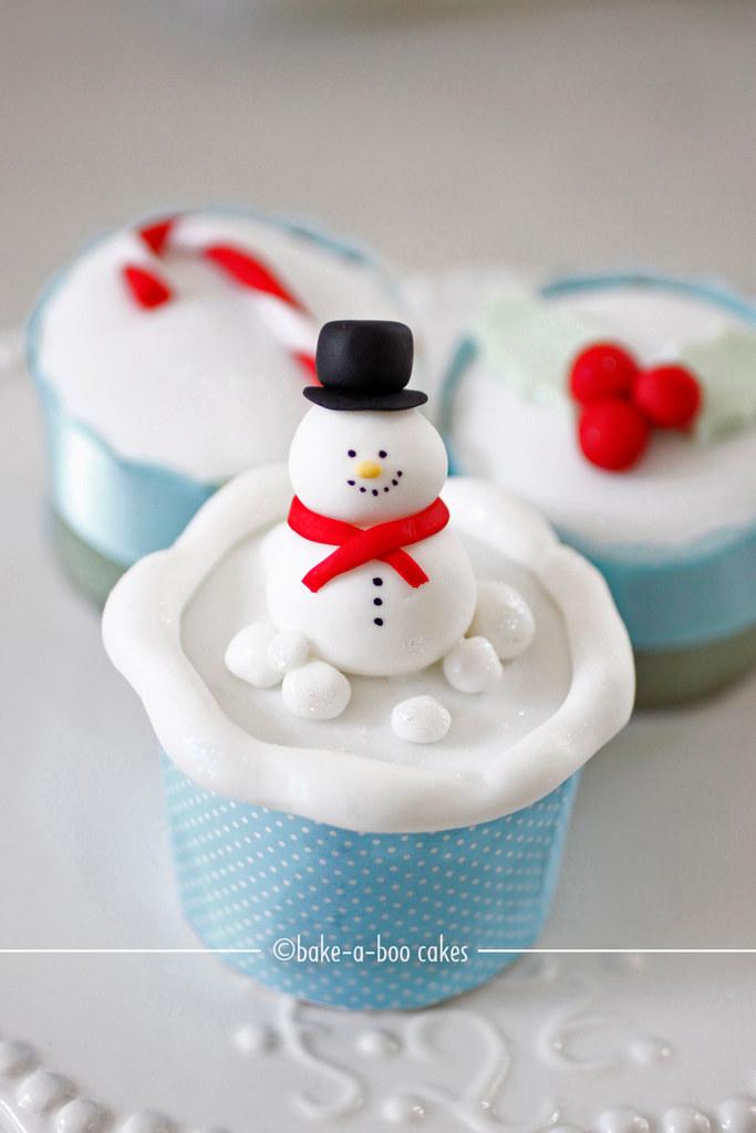 Snowman Cake To Bake