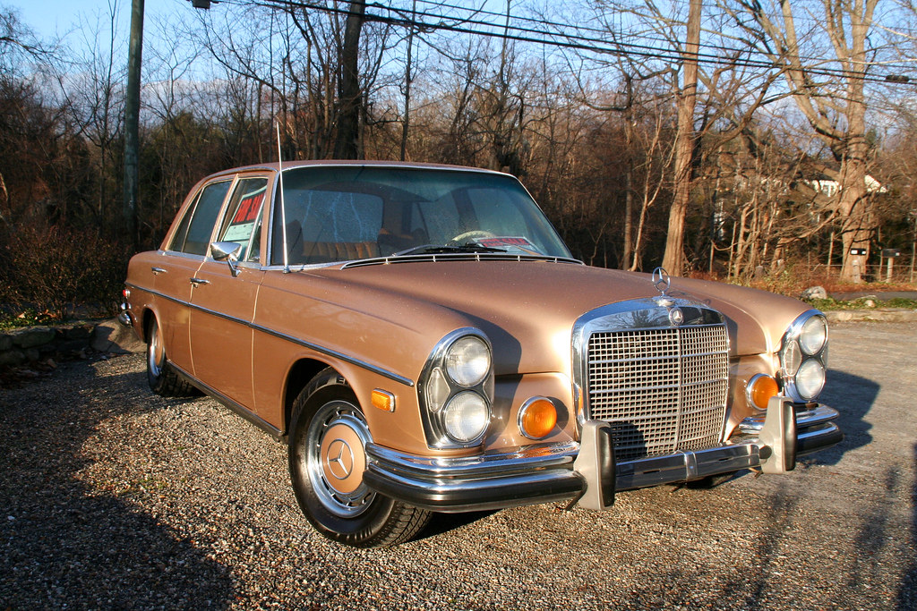 1972 Mercedes Benz 280se 4 5 Came Across This Christmas