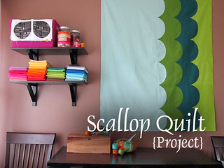 Scallop Quilt project | by StitchedInColor