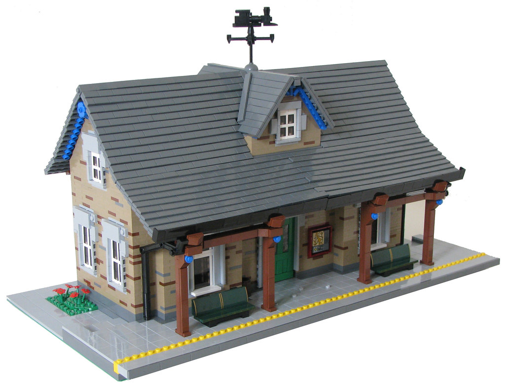 Home Design 3d Two Story Train Station 01 I Built This Train Station For The