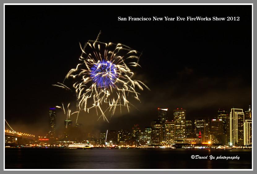 San Francisco New Year Eve FireWorks Show 2012   San ...