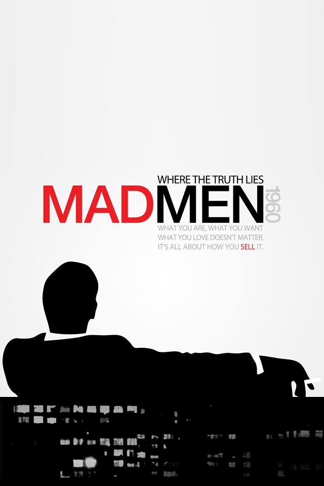 Mad Men iPhone 4 Wallpaper | Chad Xu | Flickr
