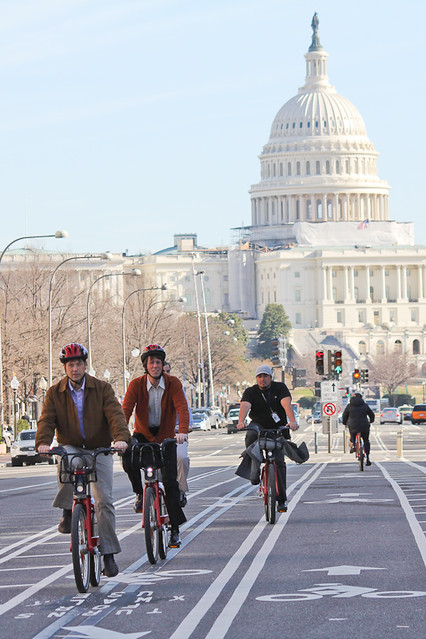 january biking in DC
