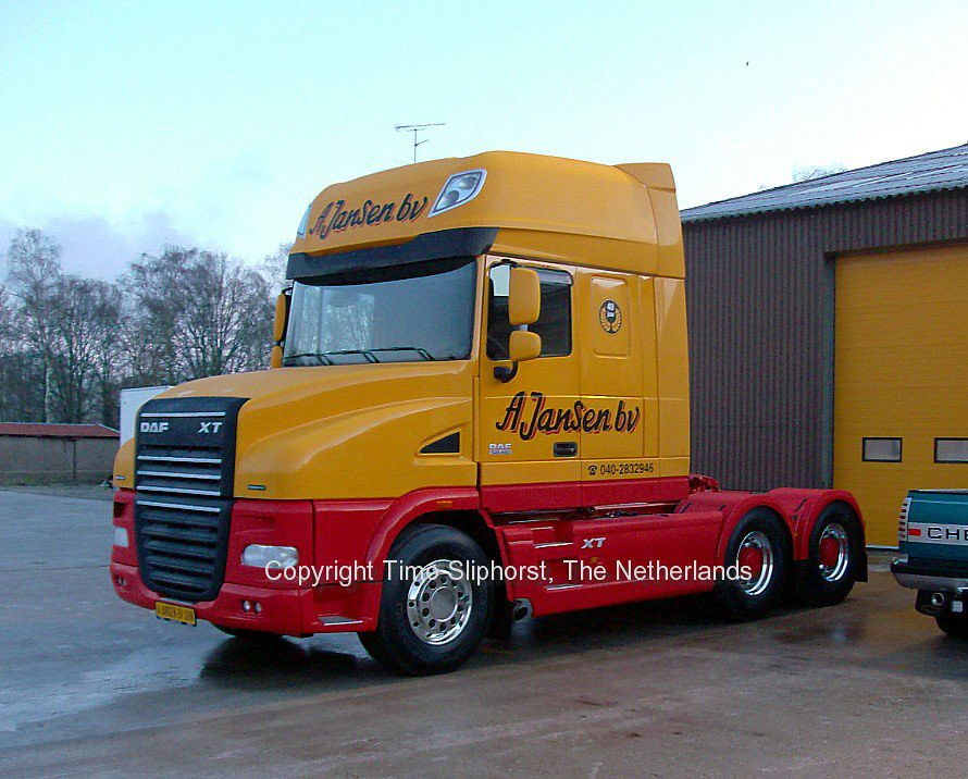 special daf truck | this is such a rare DAF XF truck that ...