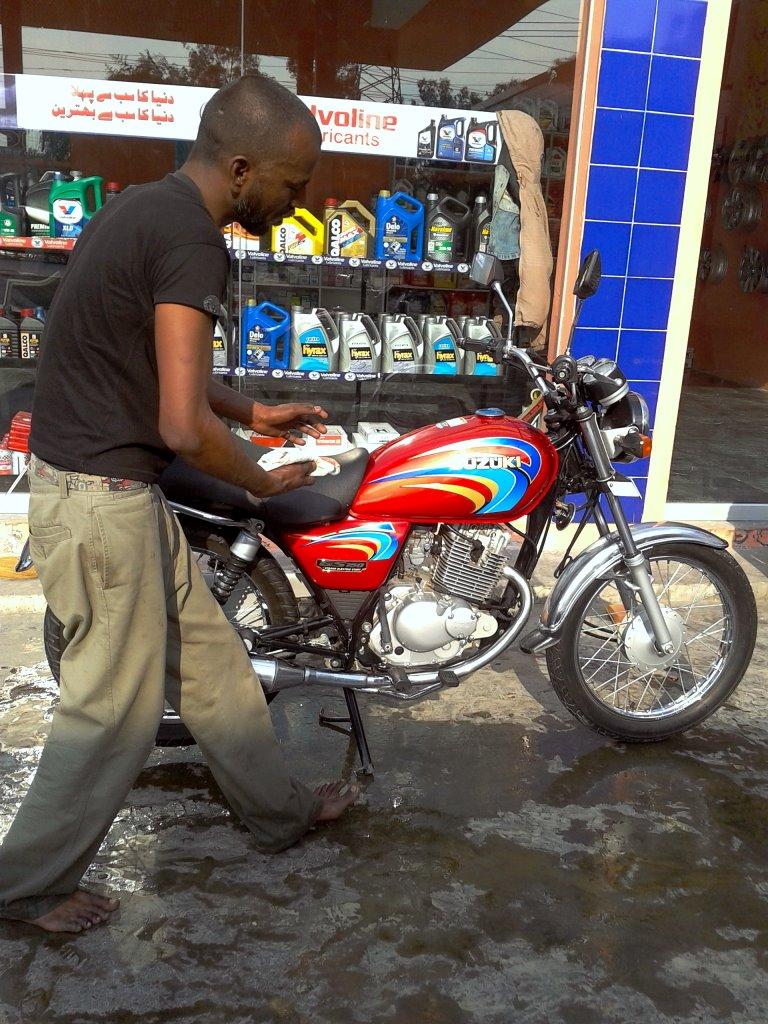 Suzuki Motorcycle Wash Msds