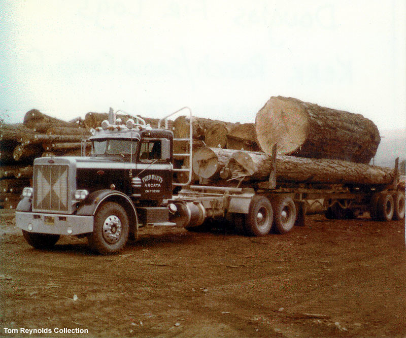 1969 Peterbilt 359 Logging truck | MudFlapper359 | Flickr