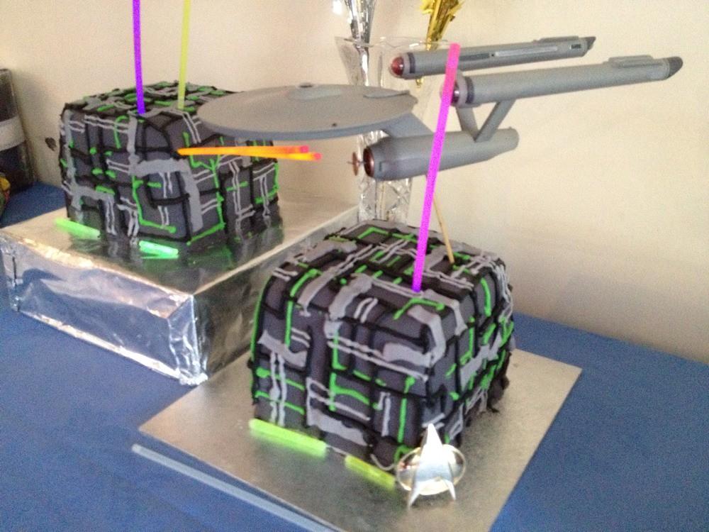 Star Trek Birthday Cake Recipe