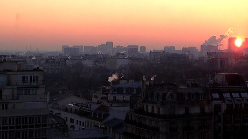 Sunrise in Paris by jmgobet