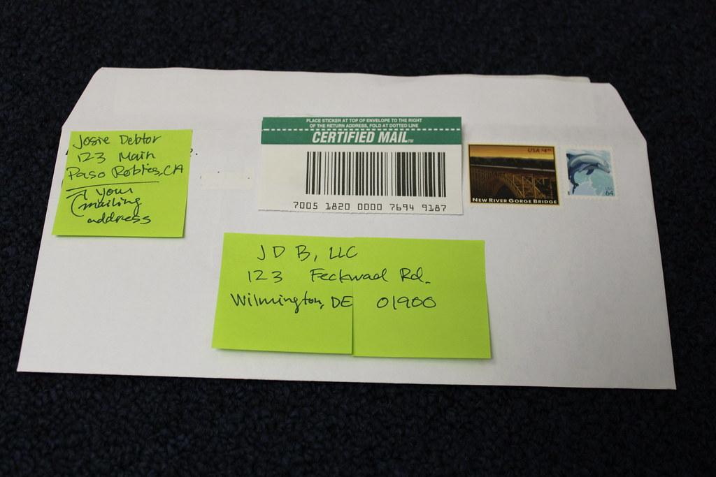 how to mail a certified letter certified mail return receipt requested step 4 stick you 22318