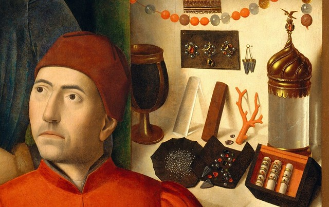 c petrus christus a goldsmith in his shop possibly