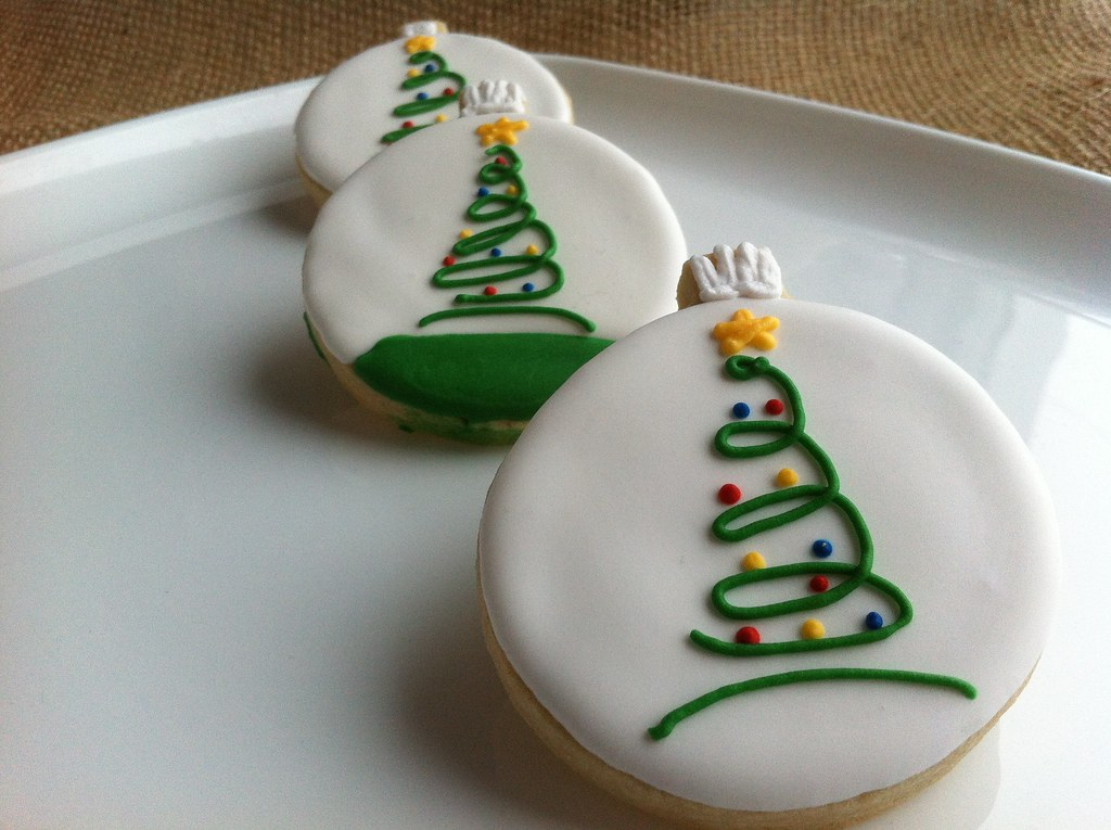 round christmas sugar cookies download - Round Christmas Cookie Decorating Ideas