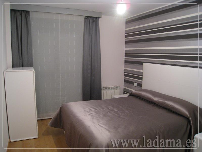 Decoraci n para dormitorios modernos cortinas en barra e - Cortinas modernas dormitorio ...