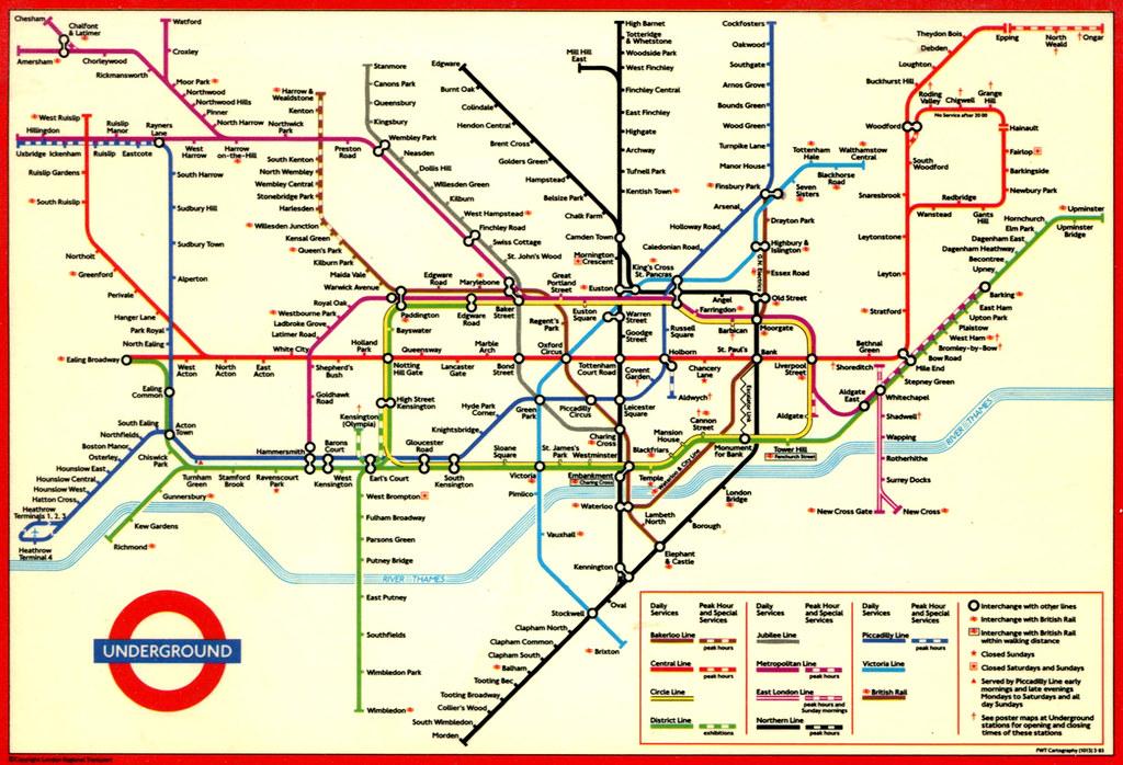 лондона скачать метро схема