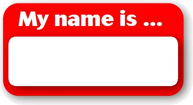 My Name Is Name: EPSB SchoolZone Graphic. Feel Free To Print Or