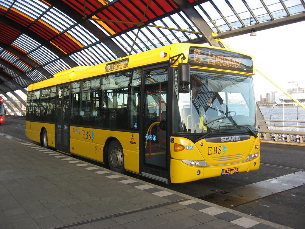 ebs bus 5031 amsterdam cs ebs bus amsterdam cs route 125 flickr. Black Bedroom Furniture Sets. Home Design Ideas