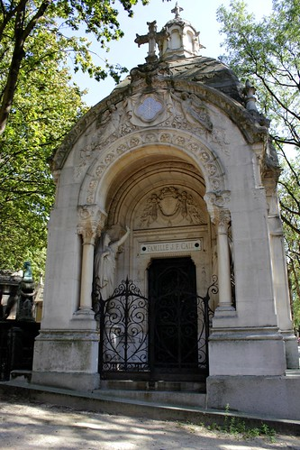 Mausoleum of Jean François Cail (1804-1871) - Mechanical engineer and Industrial / His name is one of the 72 on the Eiffel Tower. | by S. Ruehlow