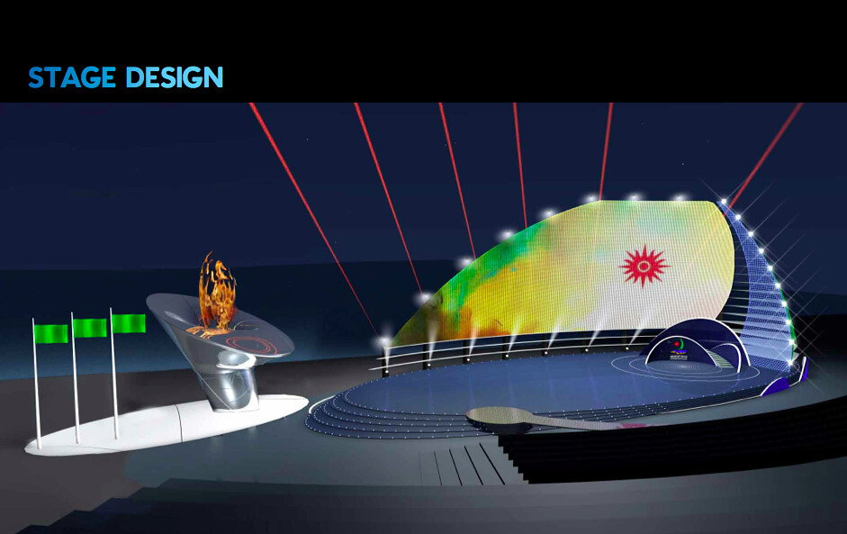 Stage Design Concept for Games   Merlin Productions   Flickr