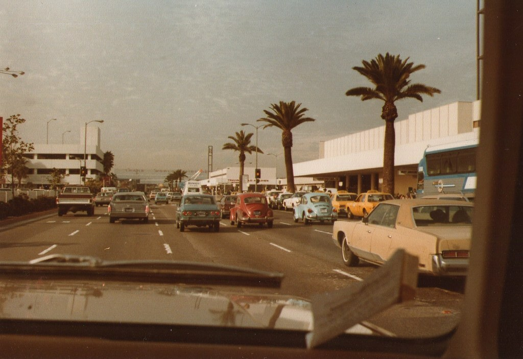 Los Angeles Airport 1979 Lax Hieblinger Flickr